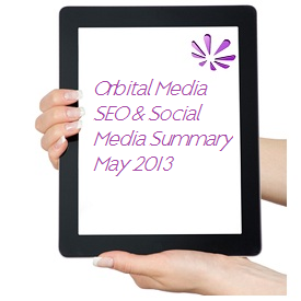 Orbital Media SEO Summary May