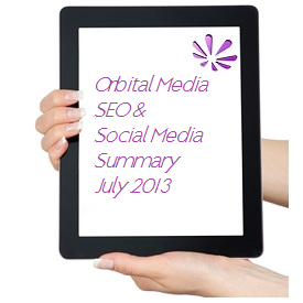 Orbital Media SEO Summary July
