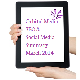 Orbital Media SEO Summary March